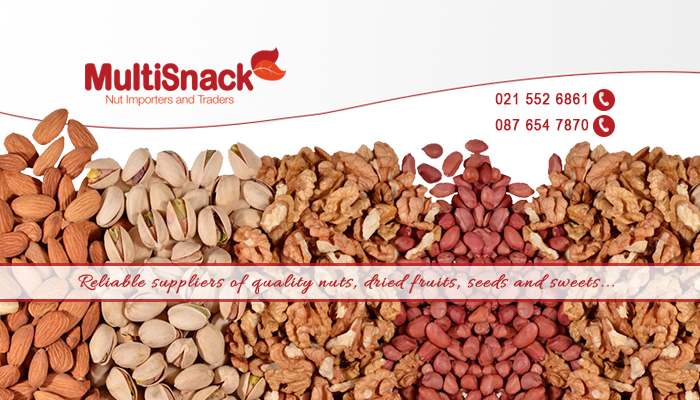 Superior nuts, seeds, and more from Multisnack